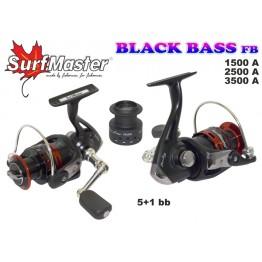 Безынерционная катушка Surf Master Black Bass 1500A FD